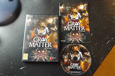 Gray Matter PC DVD-ROM Zustand komplett (Action/Abenteuer & Point & Click-Game)