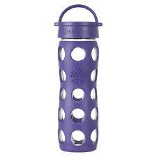 NEW Lifefactory 16 oz Royal Purple Glass Bottle - FREE SHIPPING