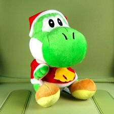 Super Mario Bros. 8 inch Green Yoshi Christmas Plush Doll Figure Toy