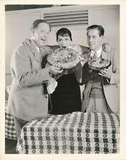 LUISE RAINER Director ROBERT LEONARD Vintage 1935 CANDID Studio Set MGM Photo