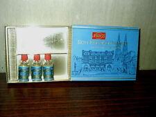 3 Echt Kolnisch Wasser Blaugold Doppelt Mini No 4711 Cologne Vintage Germany