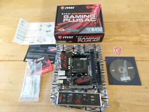MSI B450i Gaming Plus AC Motherboard Socket Am4 Mini ITX AMD B450