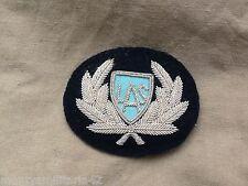 Original Obsolete London Ambulance Service Wire Cap Badge