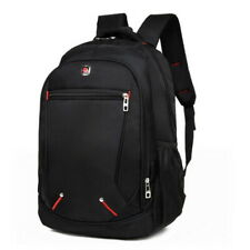 Waterproof Men Boy Large Backpack Rucksack Sport Travel Hiking School Bags Black