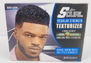 Luster's S-Curl Hair Texturizer Regular 2 Application Kit Brand New