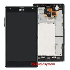 Display+Touch Screen+Frame For LG E975 Optimus G Glass LCD Cover Slide Frame