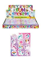 Unicorn Stickers Fun Small Party Bag Favours Fillers Girls Party JOB LOT