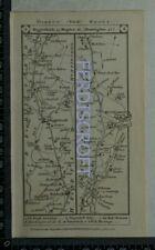 1785 Paterson Strip Map - Baldock,Biggleswade,Huntingdon,Peterborough,Coltsworth