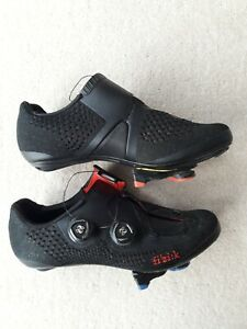 Fizik Infinito R1 Knit black cycling shoes Size EUR 39 Used Very Good condition