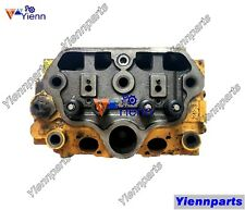 Used 2T90 2T90LE Cylinder Head Assy For Yanmar YM2010 YM2210D Tractors Engine
