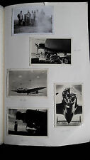 Altes Fotoalbum Luftwaffe WW2 Germany 254 photos Flugplatz Flugzeuge