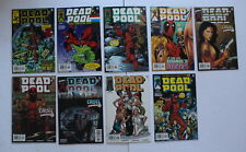 DEADPOOL (Marvel 1997-2002) #41-43,45-50 Silent issue 1st Kid Deadpool VF/NM