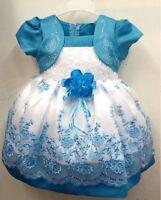 Baby Girl Dress Flower Girl Dress Infant Toddler Kid Wedding Birthday tutu Dress