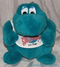 "Rare PLANET HOLLYWOOD SAN DIEGO Plush 9"" BUBBA The GREEN DINO Dinosaur Mascot"