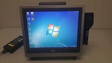 NCR 7610-1000-8801 TOUCHSCREEN POS Terminal/Register MSR,Rear Disp & Biometrics