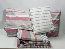 Completo letto  Flanella Zucchi LINTON  matrimoniale cm. 240 x 290     Rosa