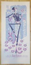 2007 Adam Franklin - Portland Silkscreen Concert Poster by Guy Burwell