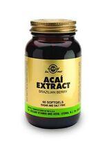 Solgar Acai Extract Softgels Brazilian Berry 60 Count