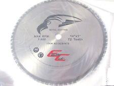 "SCB1472 Circular Saw Blade 14"" 72 Tooth Dry Cut Carbide"