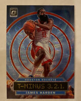2019-20 Donruss Optic James Harden Red Prizm Wave   T-Minus 3,2,1 Rare Card #4