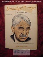 Saturday Review October 22 1949 JOHN DEWEY BRAND BLANSHARD