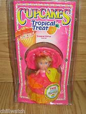 NRFB Vintage Tonka Cupcakes Tropical Treat CORAL SPLASH Doll Vintage Kenner