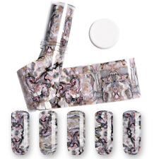1 Roll 4*120CM Abalone Designs Nail Foils Shell Style Foils Nail Art