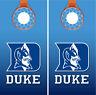Duke Blue Devils Basketball Cornhole Board Decal Wrap Wraps