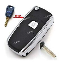 1 Button Flip Remote Key Case Shell For Fiat Stilo Punto Seicent Bravo Durable