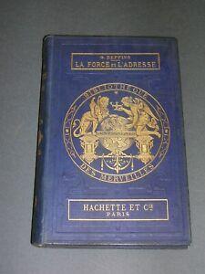 Bibliothèque des Merveilles Cartonnage éditeur bleu G. Deppping Gymnastique