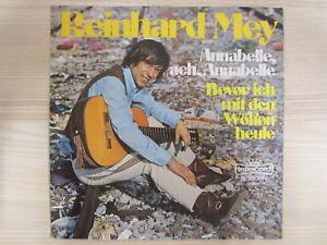 Single / Reinhard Mey – Annabelle, Ach Annabelle / 1972 / RAR /