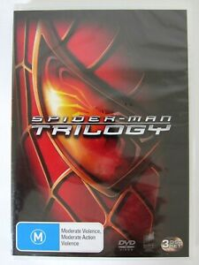 SPIDERMAN TRILOGY DVD Set (Spiderman 1,2 & 3)