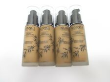 4 NUANCE FLAWLESS FINISH FOUNDATION 1oz EACH #285 MEDIUM/DEEP WARM AA 10126