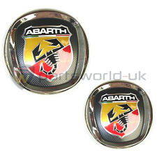 New & Genuine Fiat Abarth grande Punto front grille & rear tailgate badge set