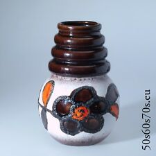 Handled Vase Scheurich 269-22  WIEN H=21,8 cm 60s - WGP - Fat Lava #1024