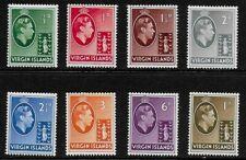 British Virgin Islands 1938 KGVI Definitives - SS to 1/-   - MLH
