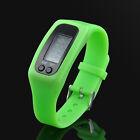 Digital LCD Pedometer Calorie Run Step Counter Walking Distance Wristband Watch