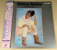 WHITNEY HOUSTON / NO,1 HIT LASER DISC with OBI