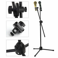 High Quality Professional Boom Microphone Mic Stand Holder Adjustable Black New