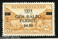 CANADA  NEWFOUNDLAND BALBOA FLIGHT  SC#C18  SG#235 MINT NEVER HINGED