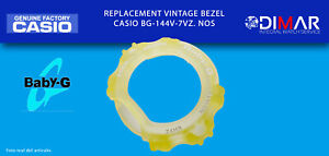 Replacement Vintage Original Bezel Casio BG-144V-7VZ. NOS