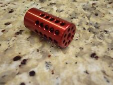 """Tactical Solutions pac-lite .22 Ruger MKIII 22/45 Red Compensator 1"""" NEW!!!"""
