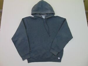 Vtg Russell Athletic Men S Hoodie Sweatshirt Logo Pullover Gray