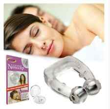 Anti Stop Snoring Snore Free Sleep Magnetic Silicone Nose Clip Night Sleep Aid