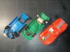 Lot pièces LOTUS - 3211 - 3210 & moteur - Fleischmann Auto Rallye -slot car 1/32