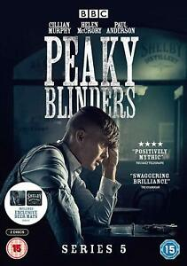 PEAKY BLINDERS SERIES FIVE SEASON 5 DVD New & Sealed
