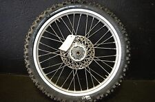 #000 2001 honda cr250 cr 250 front tire and rim