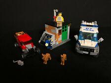 Lego 60048 Police Dog Unit Polizei Auto Prisoner Transport complete