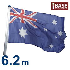 6.2 M Australian Aussie Flag Pole Aluminium Flagpole Full set Kit 6.2 meter NEW