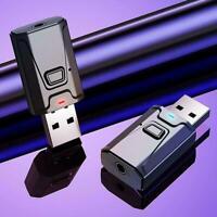 4IN1 Bluetooth 5.0 Audio Sender Empfänger USB Adapter Aux Kabel F0S9